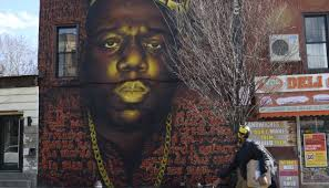 Big Ang Mural Petition by Notorious B I G Mural Destroyed By Bed Stuy Gentrifiers Cassius