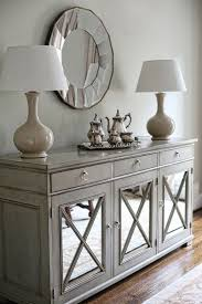 Sideboards Interesting Dining Room Consoles Buffets Buffet Table Inside Grey Sideboard On