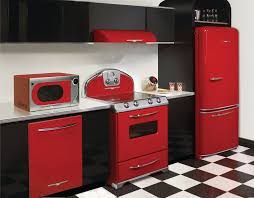 Kitchen Retro Appliances And Design Decorating Ideas By Way Of Setting Up The Exceptional Ornaments In Your With Smart