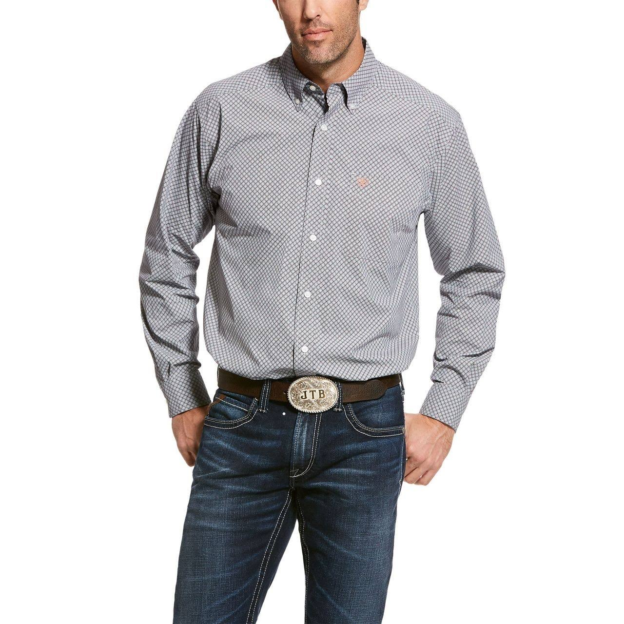 Ariat Men's Urway Stretch Classic Multi Long Sleeve Shirt