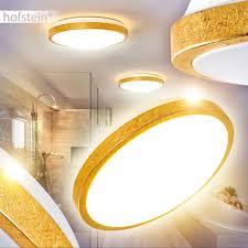 büromöbel goldene led deckenleuchte sora bad badezimmer