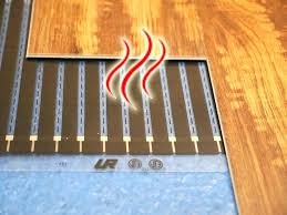 warm tile floor interior home design