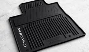 Nissan Armada Floor Mats Rubber by Nissan Murano Oem All Season Black Rubber Floor Mats 999e1 C3000