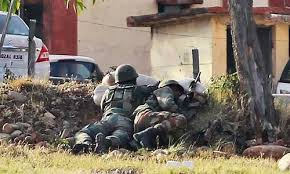 siege army siege of army base in held kashmir continues toll now 10
