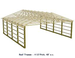 Barn Roof Construction How To Build Roof