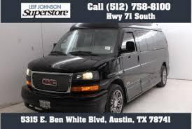 Used 2013 GMC Savana Cargo Van Conversion For Sale In Austin TX