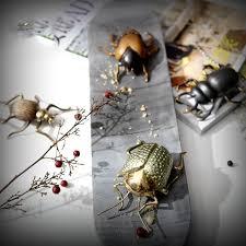 4 verschiedene insekten metall messing skulptur home decor zubehör nashorn käfer figur wohnzimmer ornament büro geschenke