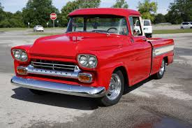 1958 Chevy Cameo - Bill & John W. - LMC Truck Life 1957 Chevrolet Cameo Carrier 3124 Halfton Pickup Chevrolet Cameo Streetside Classics The Nations Trusted 1955 Pickup Truck Stock Photo 20937775 Alamy Rare And Original Carrier Pickup Sells For 1400 At Lambrecht Che 1956 3100 Volo Auto Museum 12 Ton Chevy Cameo Gmc Trucks Antique Automobile Club Of Sale 2013036 Hemmings Motor News On The Road Classic Rollections 1958 Start Run External Youtube Chevy Forgotten Truckin Magazine