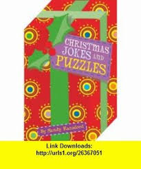 Die Cut Christmas Puzzles And Jokes 9780330444101 Sandy Ransford ISBN 10