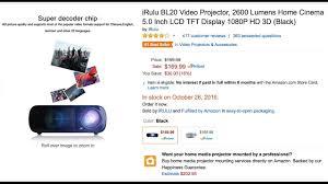 irulu bl20 review best budget projector