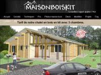 chalet en kit habitable prix construction chalet bois chalet bois habitable chalet en bois