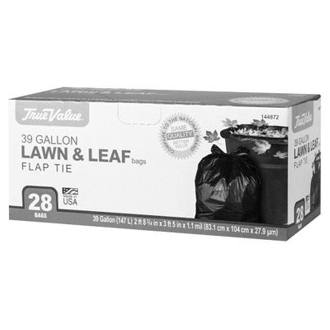 True Value 1221755 Lawn and Leaf Trash Bags - 28ct, 39gal