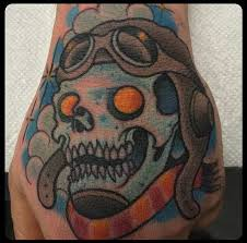 A Different Kind Of Skull Tattoo Design
