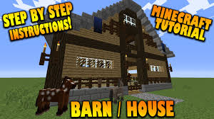Minecraft: How To Make A Barn / House - Tutorial - (How To Build A ... Minecraft Tutorial How To Make A Horse Stables Youtube Can Someone Show Me Some Barn Builds Message Board Barn Farm And Windmill Fence Creations Design Nz Stable Ideas Australia Winsome Dc Building Easy Barn With Schematics Do You Like This I Built Survival Mode Java Wood By Shroomworks On Deviantart Epic Massive Animal Screenshots Show Your Creation Converted House Small Mcunleashed Project My Single Player Silos Wanted U Guys To Be The First Sheep Minecraft Google Search Definitely