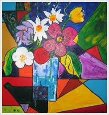 Paintings For Simple Abstract Flowers