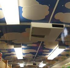 ceiling signage exles environment fastsigns