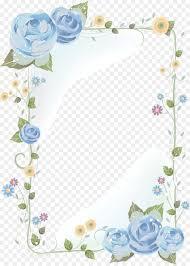 Paper Drawing Floral Design Clip Art