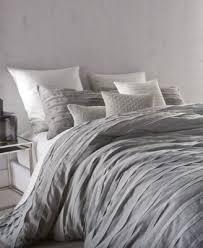 DKNY Loft Stripe Gray King Duvet Cover Duvet Covers Bed & Bath