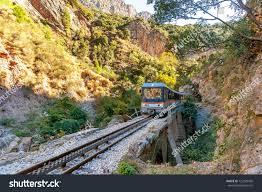 100 Kalavrita Cascade Rail Train Diakofto Greece Stock Photo Edit Now