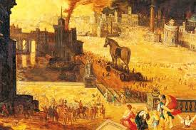 siege social translation a s version of the trojan war the spectator