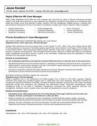Regular Nurse Manager Resume Objective Examples Cover Letter Nursing