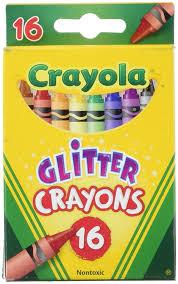 Crayola Bathtub Crayons Walmart by Amazon Com Crayola 16ct Multi Colored Glitter Crayons Toys U0026 Games