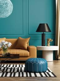 kraftvolles türkis für moderne wohnzimmer petrol de luxe