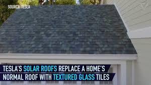 new tesla technology solar roof tile powerwall 2 home elon musk 4