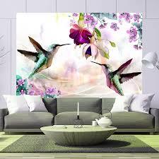 murando fototapete selbstklebend kolibri vogel 49x35 cm