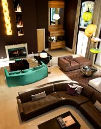 color schemes aqua mustard mocha hues design indulgences