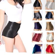 colorful spandex shorts women