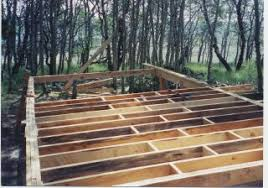 Floor Joist Spacing Shed by 14 X 24 Owner Built Cabin