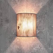 loft wandleuchte stoff schirm halbrund e27 in rosa