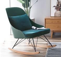 schaukelstuhl für den wohnzimmer modern