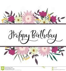 Happy Birthday Hand Lettering Stock Illustrations – 3 223 Happy