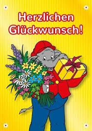 benjamin blümchen glückwunschkarte comic