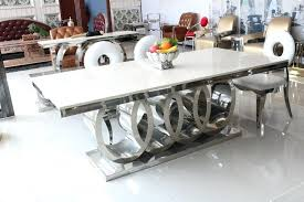 Cheap Modern Dining Room Tables Table Marble And Chair 8 Chairs