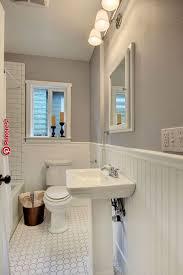 wände des seattle vintage badezimmers grau dies ist der