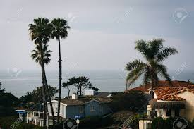 100 Point Loma Houses And Palm Trees On Ladera Street Seen From Sunset Cliffs