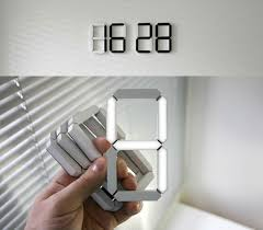 LED Digital Wall Clock Enlarge Image