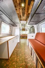 100 Refurbished Airstream Renovated Green Cork Floors Corrugated Metal Reclaimed