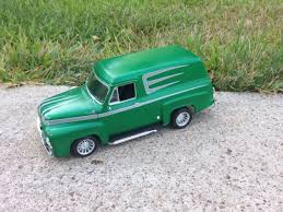1955 Ford Panel Truck Custom (Flake Metal Green And Silver ...
