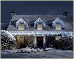 Outdoor Snowflake Lights New Year Snowflake Led String Lighting