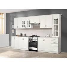 cuisine blanche pas cher cuisine complete blanche cuisine equipee modele meubles rangement
