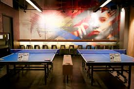 Bathtub Gin Nyc Menu by Spin A 12 000 Square Foot Ping Pong Bar Bounces Into Philly