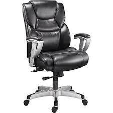 staples denville bonded leather big and tall manager s chair