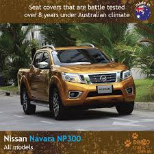 STANDARD Front & REAR Seat Covers (NN15HB+R) - Dingo Trails