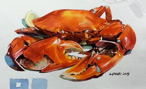 Watercolor Drawings food by claw0208