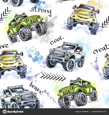 Pattern Cartoon Monster Trucks. — Stock Photo © Anastezzzia.gmail ... Race Meteor And Mighty Police Video Bigfoot Monster Truck Party Cartoon Tow Pictures Free Download Best Stock Illustrations 392 Blue Green Trucks With A Big Wheels Vector Illustration Compilation For Kids About Fire Personalized Iron On Transfers Grave Digger Art More Images Of Car Red 2 For Kids Youtube Learn 3d Shapes Stunts Cartoon Monster Truck Trucksbig Carl The Super And Hulk In City Cars Children Geckos Garage Toddler Fun Learning