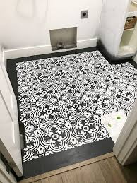 Grouting Vinyl Tile Answers by How To Paint Vinyl Floors Cement Tile Look Cherished Bliss